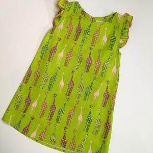 Unique! Like new giraffe print a-line dress   3T